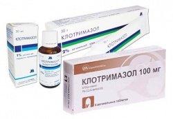 Лечение клотримазолом во время беременности